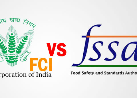 difference between FSSAI and FCI