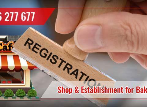 Shop and Establishment Labour License Registration For Bakery Shop