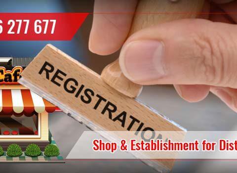 Shop and Establishment Labour License Registration For Marketers and Distributors