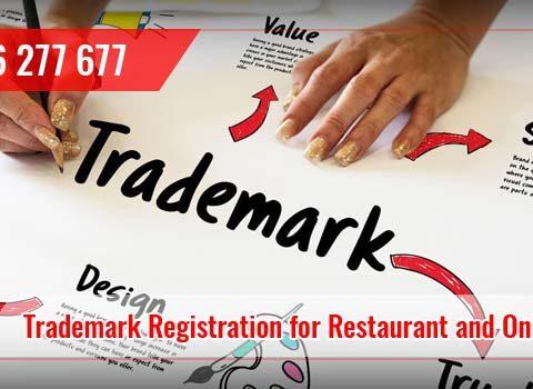 Trademark Registration for Restaurant and Online Kitchen